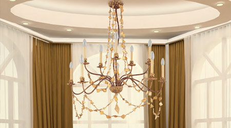 Indoor lighting - Ceiling, wall, lamps and light shades