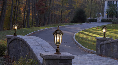 Outdoor lighting - outdoor wall lihgts and garden post lights